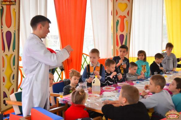 детский мастеркласс 1 ресторан цирк