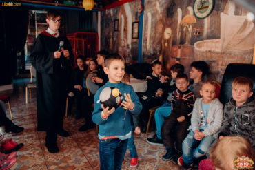 Детские конкурсы в ресторане Цирк