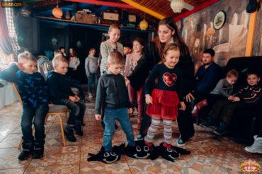 Конкурсы для детей в игровых комнатах ресторана Цирк