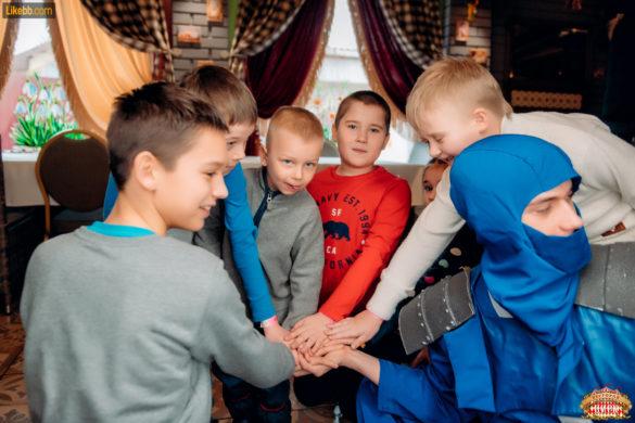 Детские игровые программы в ресторане Цирк