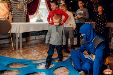 Детские аниматоры в ресторане Цирк