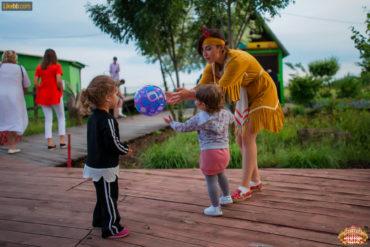 Игры и мастер-классы для детей в ресторане Цирк