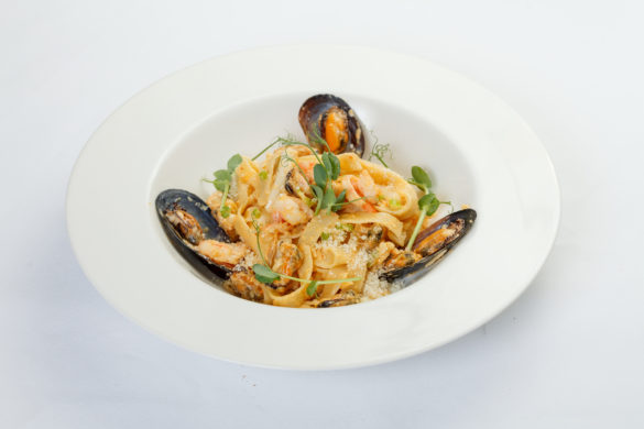 Паста с морепродуктами