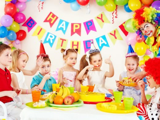 детский-день-рождения в ресторане Цирк
